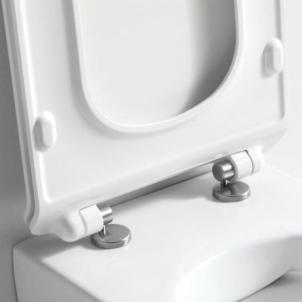 abattant pour wc suspendu sans bride saneo compact. Black Bedroom Furniture Sets. Home Design Ideas