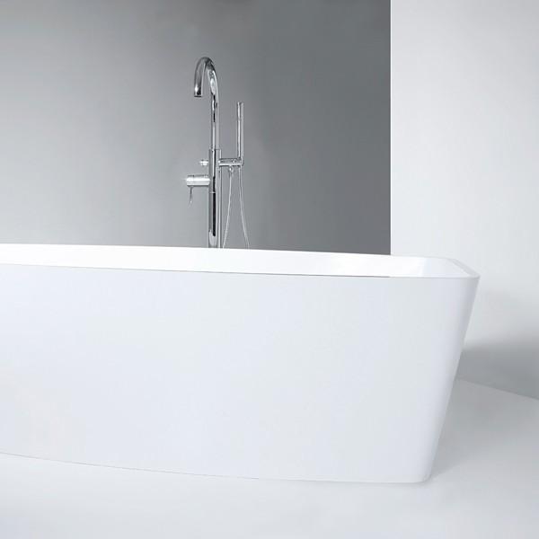 Robinet mitigeur colonne LOOP pour baignoire ilot