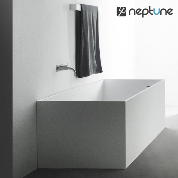 baignoire ilot 170 quadra solid surface. Black Bedroom Furniture Sets. Home Design Ideas