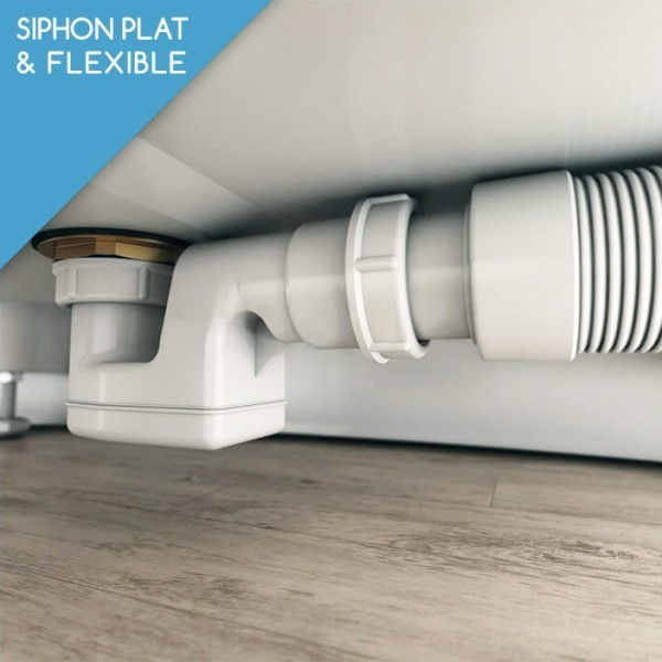 baignoire ilot 180 quadra solid surface. Black Bedroom Furniture Sets. Home Design Ideas